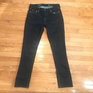 J Crew Matchstick Stretch Dark Wash Jeans Size 30